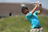 Alejandro Larrazabal (ESP) on the 5th tee during Round 1 of the The Amateur Championship 2019 at The Island Golf Club, Co. Dublin on Monday 17th June 2019.<br /> Picture:  Thos Caffrey / Golffile<br /> <br /> All photo usage must carry mandatory copyright credit (© Golffile | Thos Caffrey)