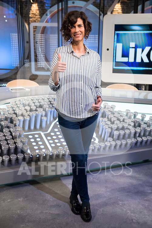 Cristina Teva during the presentation of the new TV program to Movistar+,  &quot; Likes &quot; at 7 y accion studios in Madrid. January 27, 2016.<br /> (ALTERPHOTOS/BorjaB.Hojas)