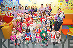 The Children of Feale Childcare, Listowel  getting ready for Christmas.
