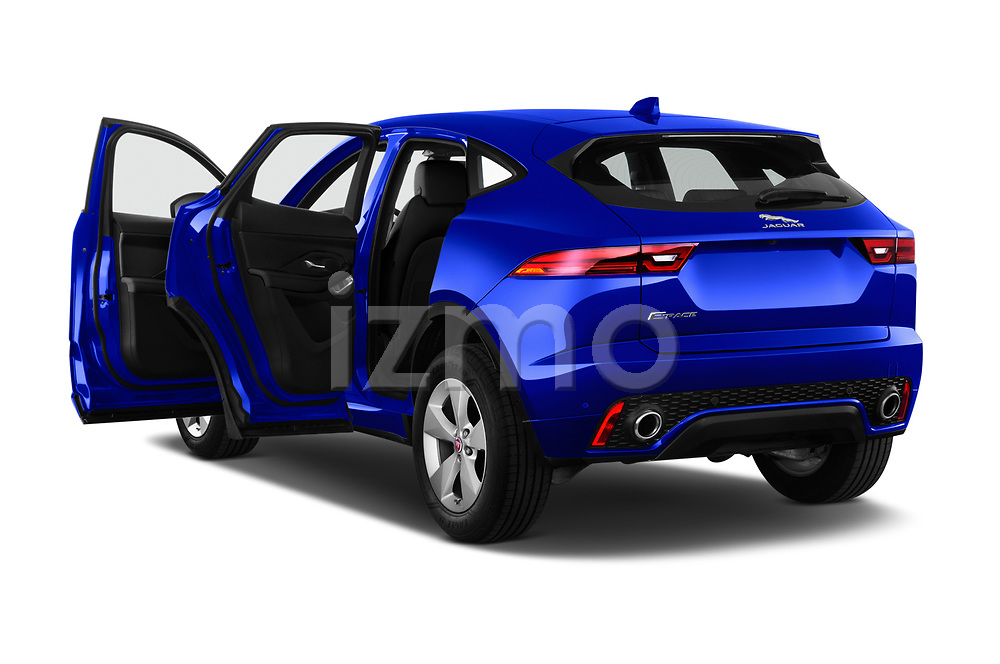 Car images close up view of a 2019 Jaguar E-PACE R-Dynamic S 5 Door SUV doors