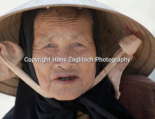 Menschen in Hue, Zentralvietnam