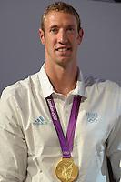 Alain Bernard (fra).London 04/08/2012 .London 2012 Olympic games  - French House - Olimpiadi Londra 2012 - Casa Francia - I medagliati.Foto JB Autissier / Panoramic / Insidefoto.ITALY ONLY..