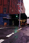 Manhattan's Meat Packing District in the early morning