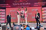 Race leader Tom Dumoulin (NED) Team Sunweb retains his Maglia Rosa at the end of Stage 18 of the 100th edition of the Giro d'Italia 2017, running 137km from Moena to Ortisei/St. Ulrich, Italy. 25th May 2017.<br /> Picture: LaPresse/Gian Mattia D'Alberto   Cyclefile<br /> <br /> <br /> All photos usage must carry mandatory copyright credit (&copy; Cyclefile   LaPresse/Gian Mattia D'Alberto)