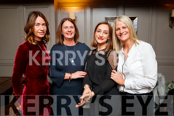 Helen Pearse, Tralee, who celebrated her birthday at No. 4, The Square, Tralee, on Saturday night last were l-r: Jackie Ruttledge, Helen Pearse, Linda Fitzgerald and Tara Murphy.