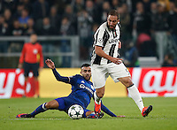 Calcio, Champions League: Gruppo H, Juventus vs Lione. Torino, Juventus Stadium, 2 novembre 2016. <br />