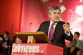 Gordon Brown, Citizens UK General Election Assembly, Central Hall, Westminster, London.