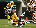 KOREY HALL, of the Green Bay Packers, in action during the Packers games against the Washington Redskins, in Green Bay, Wisconsin on October 14, 2007.  ..The Packers won the game 17-14...COPYRIGHT / SPORTPICS..........