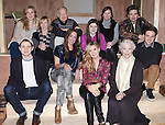 The Cast- front row: Chris Perfetti, Elizabeth Marvel, Maggie Grace, Ellen Burstyn, Ben Rappaport.Back row: Cassie Beck, Maddie Corman, Reed Birney, Madeleine Martin, Mare Winningham & Sebastian Stan attending the Meet & Greet for the Roundabout Theatre Company's 'Picnic' at their rehearsal studios  in New York City. November 29, 2012.