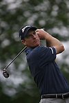 7 September 2008:     Jim Furyk watches his ball after teeing off during the fourth and final round of play at the BMW Golf Championship at Bellerive Country Club in Town & Country, Missouri, a suburb of St. Louis, Missouri on Sunday September 7, 2008. The BMW Championship is the third event of the PGA's  Fed Ex Cup Tour.