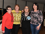 Anne Murtagh celebrating her 50th birthday in Brú with friends Margarte Campbell, Valerie Griffin and Jennifer McEnteggart. Photo:Colin Bell/pressphotos.ie