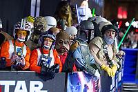 "Atmosphere<br /> arriving for the ""Star Wars: The Rise of Skywalker"" premiere at the Cineworld Leicester Square, London.<br /> <br /> ©Ash Knotek  D3545 17/12/2019"