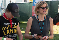 SAN FRANCISCO, CALIFORNIA - AUGUST 11: Another Planet Entertainment VP of strategic alliances and events Danielle Madeira photographed during the 2019 Outside Lands Music And Arts Festival at Golden Gate Park on August 11, 2019 in San Francisco, California. Photo: imageSPACE/MediaPunch