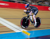 26th January 2020; National Cycling Centre, Manchester, Lancashire, England; HSBC British Cycling Track Championships; Female 500m TT final Emma Finucane slow pan shot