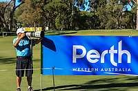 Thos Caffrey (Golffile Photographer) in action on the 1st during Round 2 Matchplay of the ISPS Handa World Super 6 Perth at Lake Karrinyup Country Club on the Sunday 11th February 2018.<br /> Picture:  Thos Caffrey / www.golffile.ie<br /> <br /> All photo usage must carry mandatory copyright credit (&copy; Golffile | Thos Caffrey)
