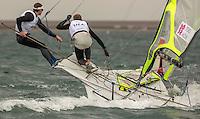 .49usa..Moore Trevor, Storck Erik, (USA, 49er)..2012 Olympic Games .London / Weymouth