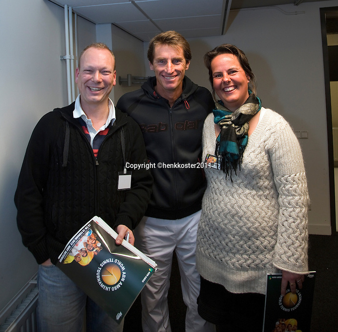 2011-02-07, Tennis, Rotterdam, ABNAMROWTT,  Paul Haarhuis,