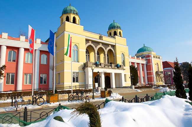 Town Hall of Mohács, Széchenyi tér - Hungary