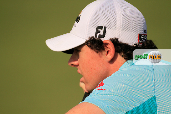 Rory McIlroy (NIR) on the first day of the DUBAI WORLD CHAMPIONSHIP presented by DP World, Jumeirah Golf Estates, Dubai, United Arab Emirates.Picture Fran Caffrey www.golffile.ie