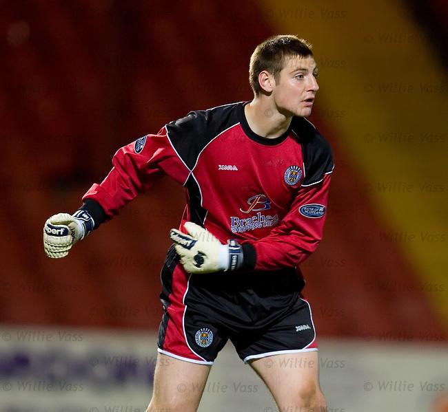 Chris Smith, St Mirren.stock season 2006-2007.pic willie vass