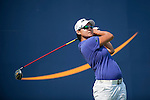 TAOYUAN, TAIWAN - OCTOBER 26:  Yani Tseng of Taiwan tees off on the 9th hole during the day two of the Sunrise LPGA Taiwan Championship at the Sunrise Golf Course on October 26, 2012 in Taoyuan, Taiwan. Photo by Victor Fraile / The Power of Sport Images