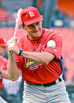 4 August 2007: St. Louis Cardinals Manager Tony La Russa drills his team during batting practice prior to a game against the Washington Nationals at RFK Stadium in Washington, DC. The Nationals defeated the Cardinals 12-1 in the second game of their 3-game series...Mandatory Photo Credit: Ed Wolfstein Photo