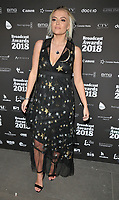 Lucy Fallon at the Broadcast Awards 2018, Grosvenor House Hotel, Park Lane, London, England, UK, on Wednesday 07 February 2018.<br /> <br /> CAP/CAN<br /> &copy;CAN/Capital Pictures
