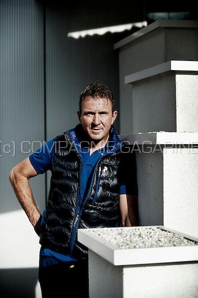 Retired Belgian professional road bicycle racer Johan Museeuw (Belgium, 18/09/2014)