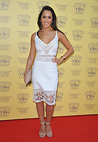 Janette Manrara at the TWG Tea London gala flagship store launch party, TWG Tea Salon &amp; Boutique, Leicester Square, London, England, UK, on Monday 02 July 2018.<br /> CAP/CAN<br /> &copy;CAN/Capital Pictures