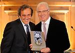 270113 UEFA Presidents Award Franz Beckenbauer