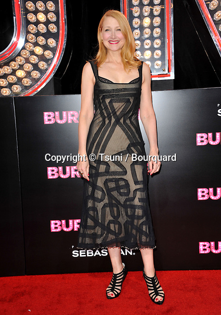 Patricia Clarkson -  Burlesque Premiere at the Chinese Theatre In Los Angeles.