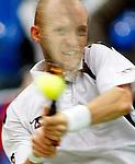Tenis, Davis Cup, 1/8 round.Russia Vs. Serbia, .Viktor Troicki Vs. Nikolay Davydenko.Moskva, 02.08.2008..foto: Srdjan Stevanovic