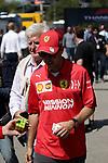 09.05.2019, Circuit de Catalunya, Barcelona, FORMULA 1 EMIRATES GRAN PREMIO DE ESPAÑA 2019<br /> , im Bild<br />Sebastian Vettel (GER#5), Scuderia Ferrari Mission Winnow mit einem Rubik Zauberwürfel<br /> <br /> Foto © nordphoto / Bratic