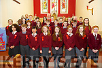 Mr. Joe Boyle's 6th class from Duagh NS who were confirmed in St Birgid's Church, Duagh by Bishop Ray  Browne on Tuesday last.