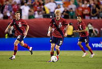 Robbie Rogers, Brek Shea. The USMNT tied Mexico, 1-1, during their game at Lincoln Financial Field in Philadelphia, PA.