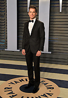 BEVERLY HILLS, CA - MARCH 4: Matt Bomer arrives at the 2018 Vanity Fair Oscar Party at the Wallis Annenberg Center for the Performing Arts on March 4, 2018 in Beverly Hills, California.(Photo by Scott Kirkland/PictureGroup)
