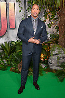 Dwayne Johnson at the &quot;Jumanji: Welcome to the Jungle&quot; premiere at the Vue West End, Leicester Square, London, UK. <br /> 07 December  2017<br /> Picture: Steve Vas/Featureflash/SilverHub 0208 004 5359 sales@silverhubmedia.com
