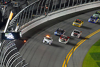 18-19 February, 2016, Daytona Beach, Florida USA<br /> The Toyota Camry Pace Car paces the field during a caution period.<br /> ©2016, F. Peirce Williams