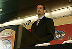 12 November 2004: MLS Commissioner Don Garber. Major League Soccer held their annual pre-MLS Cup press conference at the Home Depot Center in Carson, CA two days before the Kansas City Wizards were scheduled to play DC United in the league's annual championship game..