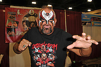 MIAMI BEACH, FL - JULY 02: Road Warrior Animal attends Florida Supercon at The Miami Beach Convention Center on July 2, 2016 in Miami Beach, Florida. Credit MPI04/MediaPunch