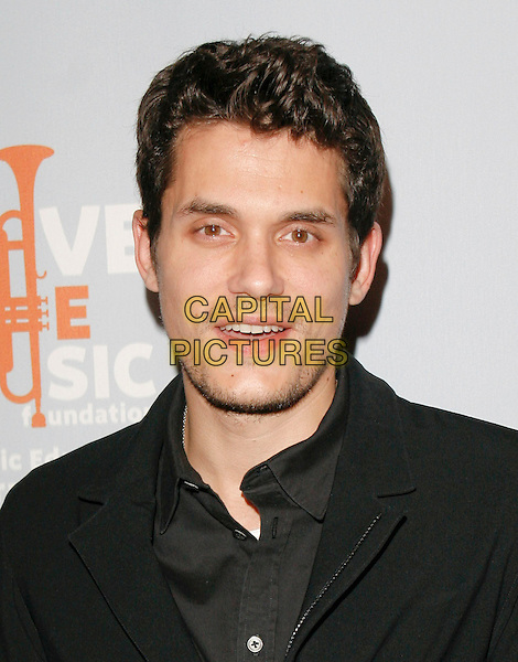 JOHN MAYER .One Splendid Evening, Sponsored By Carnival Cruise Lines And Benefiting VH1 Save The Music Foundation held at The Port of L.A. on Carnival Splendor in San Pedro, California, USA. .March 26th, 2009.headshot portrait black stubble facial hair .CAP/DVS.©Debbie VanStory/Capital Pictures.