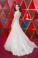 Allison Williams arrives on the red carpet of The 90th Oscars&reg; at the Dolby&reg; Theatre in Hollywood, CA on Sunday, March 4, 2018.<br /> *Editorial Use Only*<br /> CAP/PLF/AMPAS<br /> Supplied by Capital Pictures
