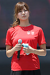 Ai Aoki,<br /> AUGUST 6, 2016 : <br /> The Tokyo Organising Committee of the Olympic and Paralympic Games and the Tokyo Metropolitan Government <br /> hold a promotion event &quot;Tokyo 2020 Live Sites in 2016-from Rio to Tokyo&quot; at Ueno park in Tokyo, Japan. <br /> The Live Sites will be held as an official program of the Olympic and Paralympic Games. <br /> At the Live Sites, visitors will be able to view exciting live broadcasts shown on a jumbo screen outside competition venues, <br /> enjoy stage events, and experience Olympic/Paralympic sports on a trial basis. <br /> (Photo by Shingo Ito/AFLO)