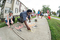 Great Chalk Walk - Dawg Daze <br />  (photo by Megan Bean / &copy; Mississippi State University)