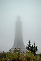 Veterans War Memorial Tower at the peak of Mount Greylock, Massachusetts, USA