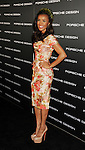 LOS ANGELES, CA - SEPTEMBER 04: Melody Thornton arrives at the Porsche Design 40th Anniversary Event at a private residence on September 4, 2012 in Los Angeles, California.