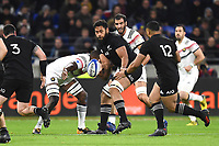 Patrick Tuipulotu of New Zealand during the rugby test match between France and New Zealand at Stade des Lumieres on November 14, 2017 in Lyon, France. (Photo by Alexandre Dimou/Icon Sport)