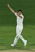 3rd December 2017, Adelaide Oval, Adelaide, Australia; The Ashes Series, Second Test, Day 2, Australia versus England; Pat Cummins appeals for a wicket but is truned down