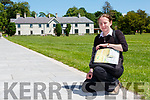 Lorraine O'Sullivan who gives a walking tour of all the  Killarney landmarks every day except Tuesday