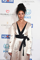 Vick Hope<br /> arriving for the Football for Peace initiative dinner by Global Gift Foundation at the Corinthia Hotel, London<br /> <br /> ©Ash Knotek  D3493  08/04/2019